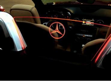 Windrestrictor for 2012-2017 Mercedes-Benz SLK R172 Convertible