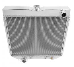 Champion Cooling 2 Row All Aluminum Radiator Made With Aircraft Grade Aluminum EC339