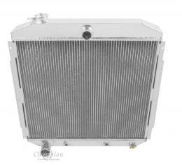 Champion Cooling 3 Row All Aluminum Radiator Made With Aircraft Grade Aluminum CC5356