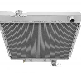 Champion Cooling 1964-1966 Ford Galaxie 3 Row All Aluminum Radiator Made With Aircraft Grade Aluminum CC2338
