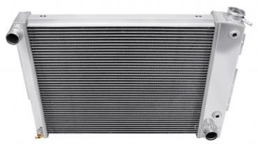 Champion Cooling 2 Row All Aluminum Radiator Made With Aircraft Grade Aluminum EC337