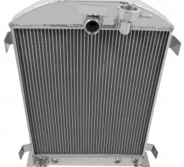 Champion Cooling 2 Row All Aluminum Radiator Made With Aircraft Grade Aluminum EC3032