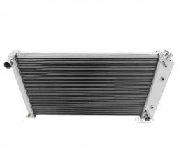 Champion Cooling 2 Row All Aluminum Radiator Made With Aircraft Grade Aluminum EC161