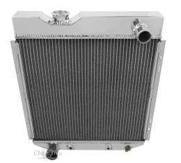 Champion Cooling 2 Row All Aluminum Radiator Made With Aircraft Grade Aluminum EC251