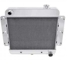 Champion Cooling 1962-1967 Chevrolet Chevy II 3 Row All Aluminum Radiator Made With Aircraft Grade Aluminum CC255