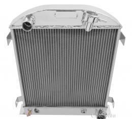 Champion Cooling 2 Row All Aluminum Radiator Made With Aircraft Grade Aluminum EC1009