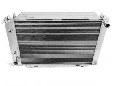 Champion Cooling 2 Row All Aluminum Radiator Made With Aircraft Grade Aluminum EC138