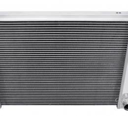 Champion Cooling 2 Row All Aluminum Radiator Made With Aircraft Grade Aluminum EC337