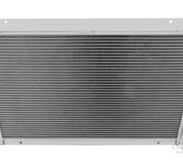 Champion Cooling 1977-1980 Chevrolet Corvette 2 Row All Aluminum Radiator Made With Aircraft Grade Aluminum EC718