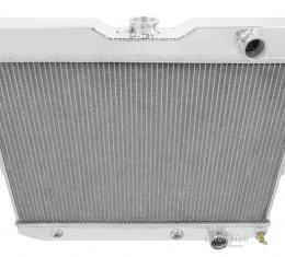 Champion Cooling 2 Row All Aluminum Radiator Made With Aircraft Grade Aluminum EC281
