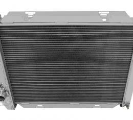 Champion Cooling 3 Row All Aluminum Radiator Made With Aircraft Grade Aluminum CC385