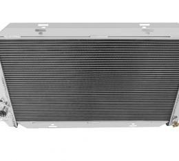 Champion Cooling 2 Row All Aluminum Radiator Made With Aircraft Grade Aluminum EC390
