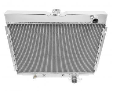 Champion Cooling 3 Row All Aluminum Radiator Made With Aircraft Grade Aluminum CC338