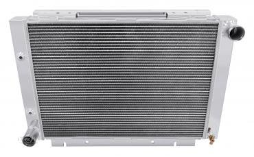 Champion Cooling 1960-1963 Ford Galaxie 3 Row All Aluminum Radiator Made With Aircraft Grade Aluminum CC6063