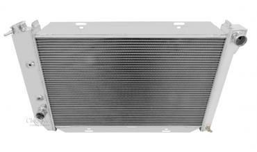 Champion Cooling 2 Row All Aluminum Radiator Made With Aircraft Grade Aluminum EC381