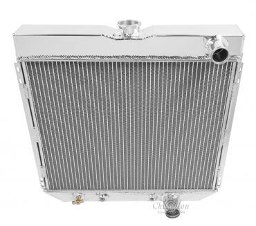 Champion Cooling 2 Row All Aluminum Radiator Made With Aircraft Grade Aluminum EC340