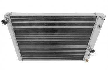 Champion Cooling 1989-1996 Chevrolet Corvette 2 Row All Aluminum Radiator Made With Aircraft Grade Aluminum EC1052