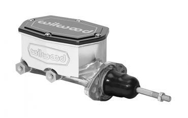 Wilwood Brakes Compact Tandem Master Cylinder w/ Pushrod 260-15540-P
