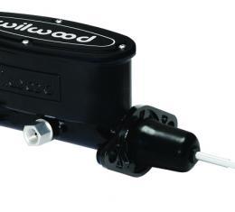 Wilwood Brakes Aluminum Tandem Master Cylinder w/ Pushrod 260-13375-BK