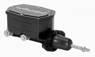 Wilwood Brakes Compact Tandem Master Cylinder w/ Pushrod 260-15541-BK