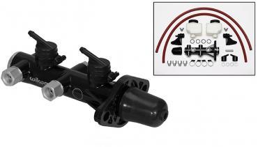 Wilwood Brakes Remote Tandem Master Cylinder 260-14244-BK