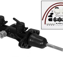 Wilwood Brakes Remote Tandem Master Cylinder w/ Pushrod 260-14242-BK