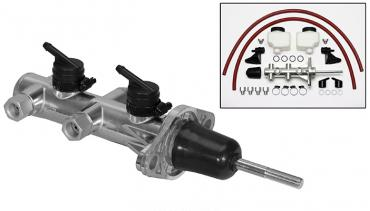Wilwood Brakes Remote Tandem Master Cylinder w/ Pushrod 260-14388-P