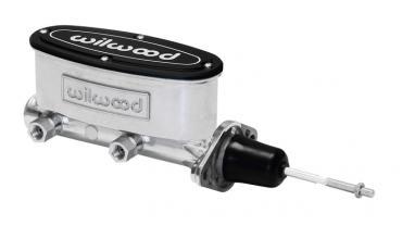 Wilwood Brakes Aluminum Tandem Master Cylinder w/ Pushrod 260-13375-P