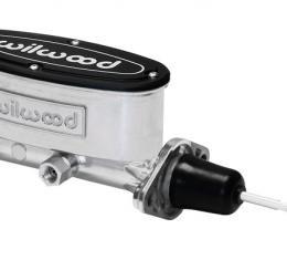 Wilwood Brakes Aluminum Tandem Master Cylinder w/ Pushrod 260-9439-P