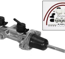 Wilwood Brakes Remote Tandem Master Cylinder w/ Pushrod 260-14242-P