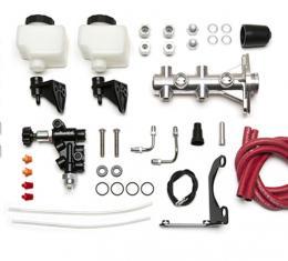 Wilwood Brakes Remote Tandem M/C Kit with Bracket and Valve 261-14252-P