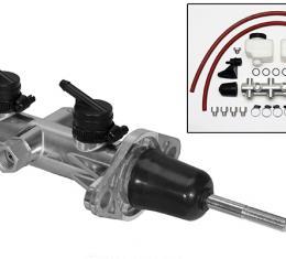Wilwood Brakes Remote Tandem Master Cylinder w/ Pushrod 260-14241-P