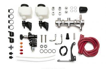 Wilwood Brakes Remote Tandem M/C Kit with Bracket and Valve 261-14251-P