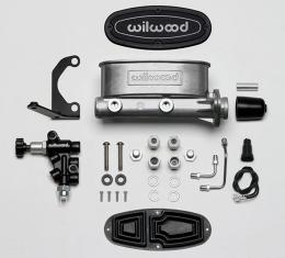 Wilwood Brakes Aluminum Tandem M/C Kit with Bracket and Valve 261-13269
