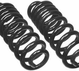 Moog Chassis CC822, Coil Spring, OE Replacement, Load Rate 1730 Pounds, Set of 2, Variable Rate Springs