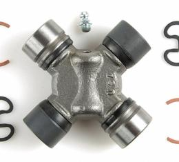 Moog Chassis 355C, Universal Joint, OE Replacement, Combination 354 x 534G, With Inside Retaining Clips, With Bearing Cup Size 1.063 Inch x 1.125 Inch, With Yoke Span 2.560 Inch x 3.622 Inch, Super Strength Alloy Steel, Greaseable