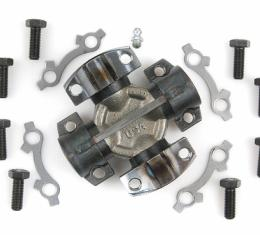 Moog Chassis 536, Universal Joint, OE Replacement, Mechanics 3C, With Integral Retaining Clips, With Bearing Cup Size 1.44, With Yoke Span 2.75, Super Strength Alloy Steel, Greaseable