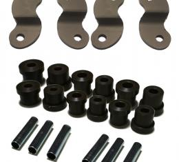 Ridetech 1955-1957 Chevy StreetGRIP Delrin Leaf Spring Bushings and Shackles- Set 11015399