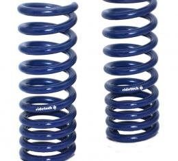 Ridetech 1964-1966 Mustang StreetGRIP Lowering Front Coil Springs -Dual Rate - Pair 12092350