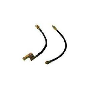 Brake Hose - Front - Drum Brakes - Left Or Right - 13-1/2 Long