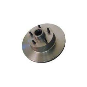 Disc Brake Rotor - 1 Piece Hub and Rotor Assembly
