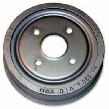 Brake Drum, Rear, 11 1/32 X 2 1/4 Inches, Montego, Ranchero, Torino, 1969-1975