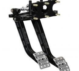 Wilwood Brakes Reverse Swing Mount Tru-Bar Brake and Clutch Pedal 340-15075
